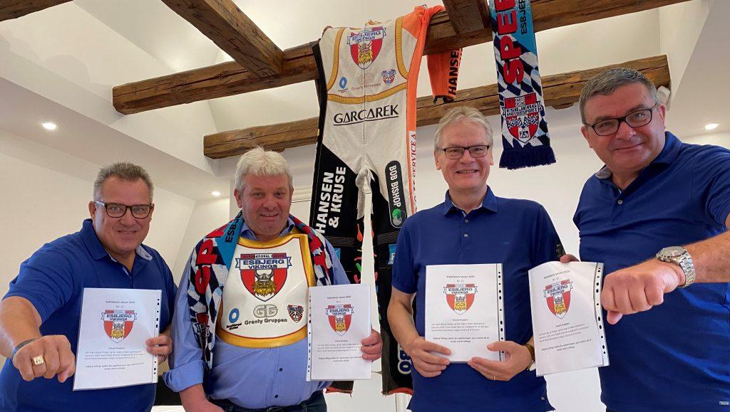 Esbjerg Vikings har lanceret støttebeviser