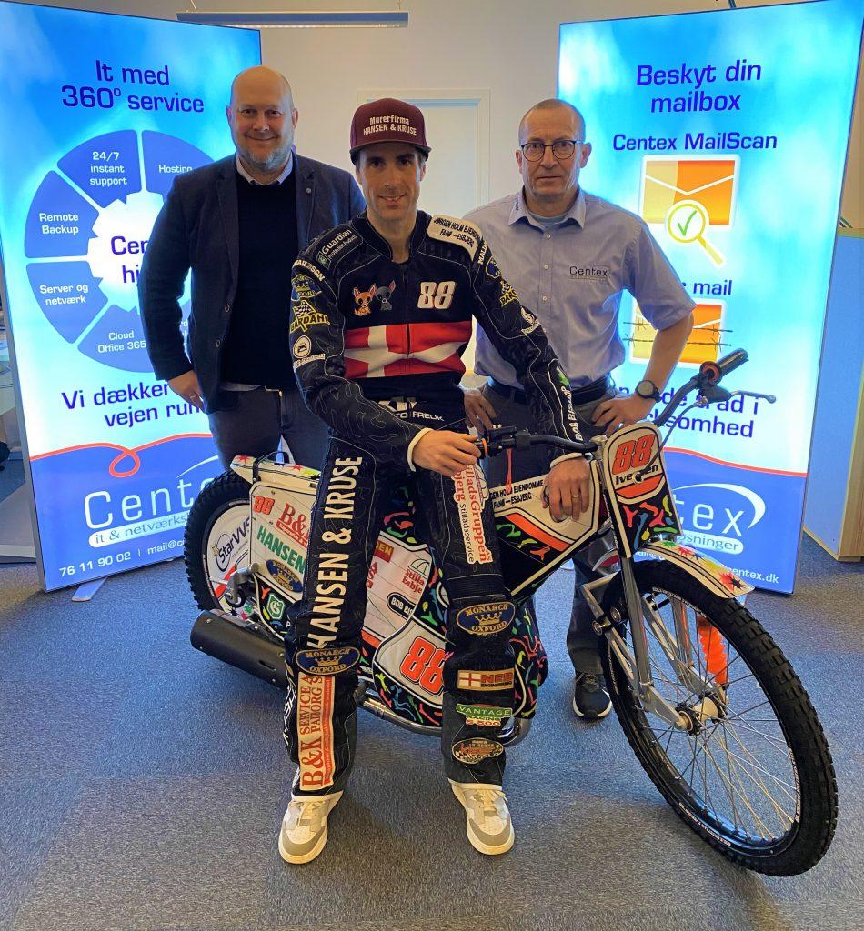 Centex forsætter langvarigt parløb med Esbjerg Vikings