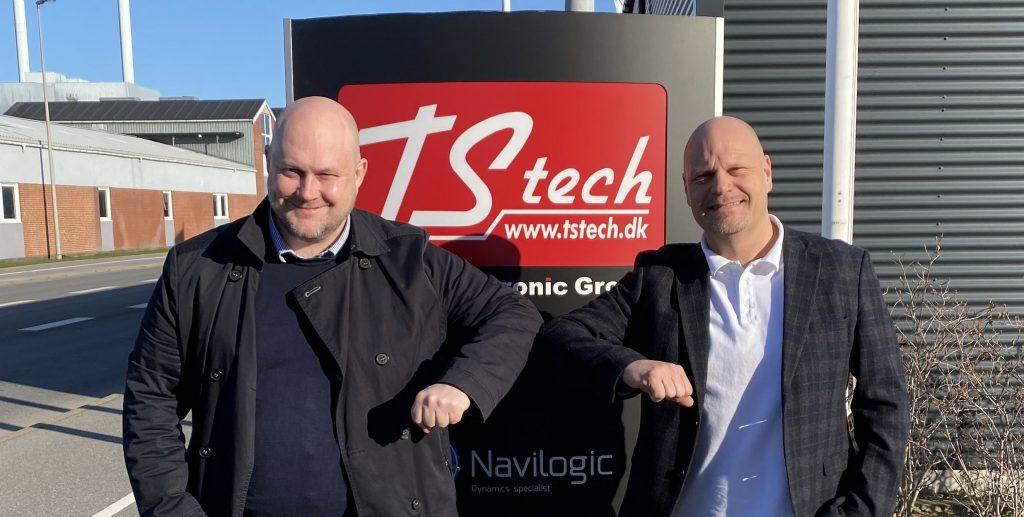 TS Tech fortsætter som hovedpartner hos Esbjerg Vikings