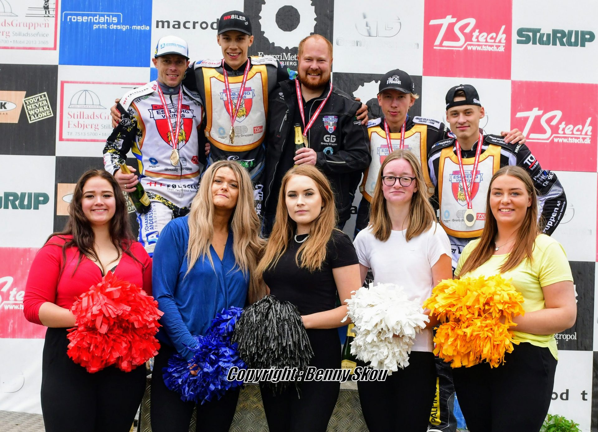 Esbjerg Motorsport tog titlen med stil